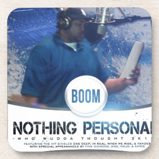 Nothing Personal 2K12 Kover Beverage Coasters
