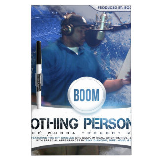 Nothing Personal 2K12 Kover Dry Erase Board