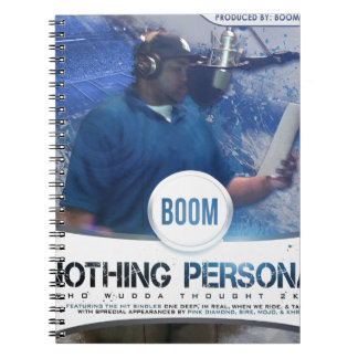 Nothing Personal 2K12 Kover Journals