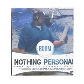 Nothing Personal 2K12 Kover Memo Note Pads