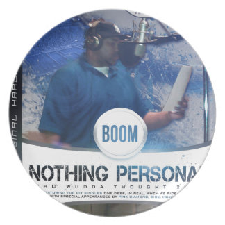 Nothing Personal 2K12 Kover Dinner Plates