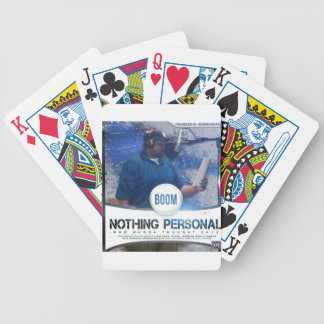 Nothing Personal 2K12 Kover Bicycle Poker Cards
