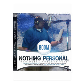 Nothing Personal 2K12 Kover Postcard