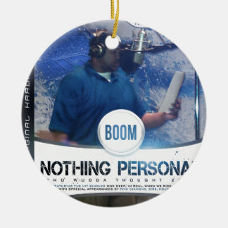 Nothing Personal 2K12 Kover Round Ceramic Decoration