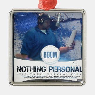 Nothing Personal 2K12 Kover Silver-Colored Square Decoration