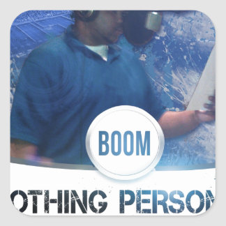 Nothing Personal 2K12 Kover Square Sticker