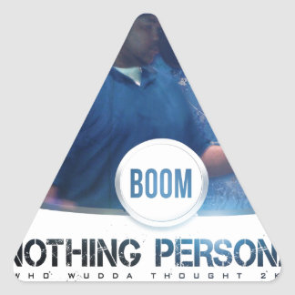 Nothing Personal 2K12 Kover Triangle Sticker