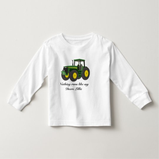 Nothing runs like my Deere girl Toddler T-Shirt