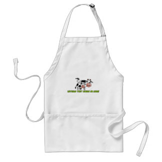 nothing that chews or moos standard apron