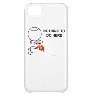 Nothing to do here iPhone 5C cases