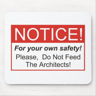 Notice / Architect Mouse Pad