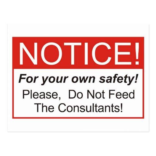 Notice / Consultant Postcard