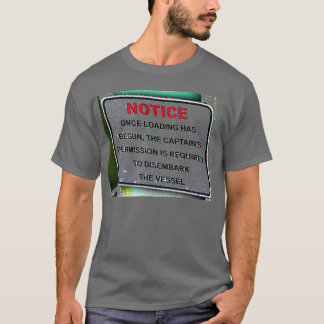 Notice Sign - Faded T-Shirt