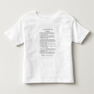 Notices for Chartist Meetings T-shirts
