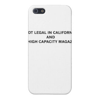 NotLegalInCali Covers For iPhone 5