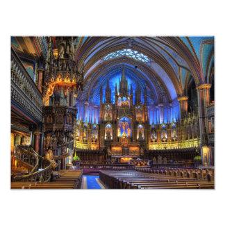 Notre Dame Basilica Photograph