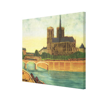 Notre-Dame  c.1933 Canvas Print