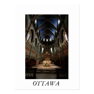 Notre-Dame Cathedral Basilica Postcard