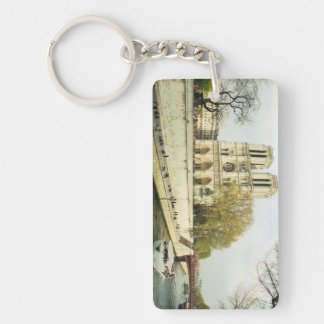 Notre Dame cathedral Key Ring