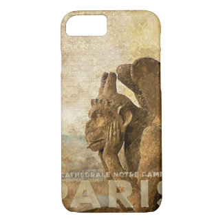 Notre Dame Cathedral Paris, le Stryga Chimera iPhone 7 Case