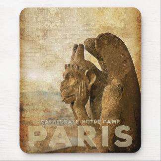 Notre Dame Cathedral Paris, le Stryga Chimera Mouse Pad