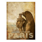 Notre Dame Cathedral Paris, le Stryga Chimera Postcard