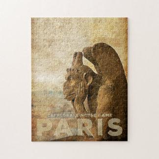 Notre Dame Cathedral Paris, le Stryga Chimera Puzzles