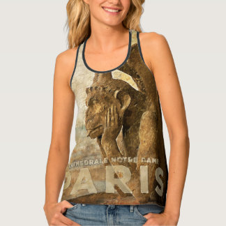 Notre Dame Cathedral Paris, le Stryga Chimera Tank Top