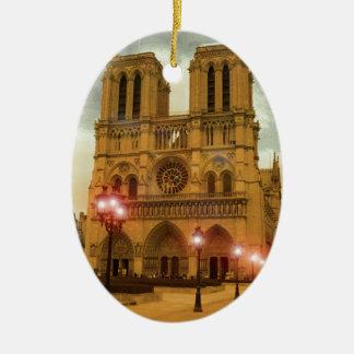 Notre Dame Christmas Ornament