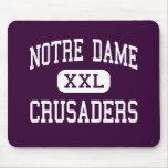 Notre Dame - Crusaders - High - Elmira New York Mousemats