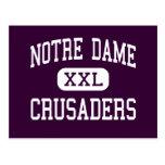 Notre Dame - Crusaders - High - Elmira New York Post Cards