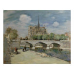 Notre Dame de Paris, c.1900 Poster