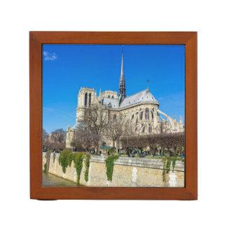 Notre Dame De Paris - Sunny Day Desk Organiser
