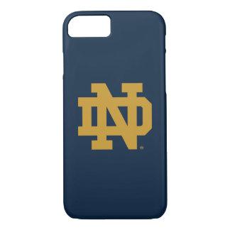 Notre Dame   Emblem Logo iPhone 8/7 Case