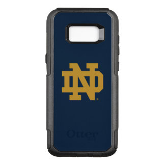 Notre Dame   Emblem Logo OtterBox Commuter Samsung Galaxy S8+ Case