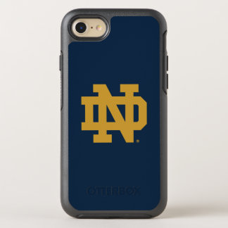 Notre Dame   Emblem Logo OtterBox Symmetry iPhone 8/7 Case