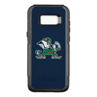 Notre Dame   Fighting Irish Leprechaun Logo OtterBox Commuter Samsung Galaxy S8+ Case