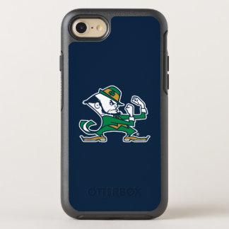 Notre Dame   Fighting Irish Leprechaun Logo OtterBox Symmetry iPhone 8/7 Case
