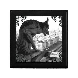 Notre Dame Gargoyle Gothic Victorian Giftbox Gift Box