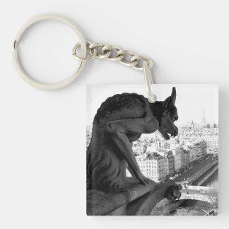 Notre Dame Gothic Gargoyle keychain