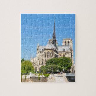 Notre Dame in Paris Jigsaw Puzzle