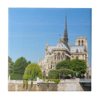 Notre Dame in Paris Tile