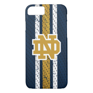 Notre Dame   Jersey Pattern iPhone 8/7 Case