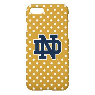 Notre Dame   Mini Polka Dots iPhone 8/7 Case