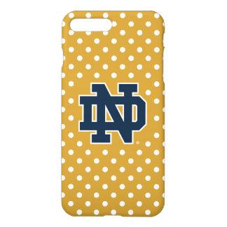 Notre Dame   Mini Polka Dots iPhone 8 Plus/7 Plus Case