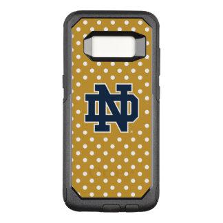 Notre Dame   Mini Polka Dots OtterBox Commuter Samsung Galaxy S8 Case