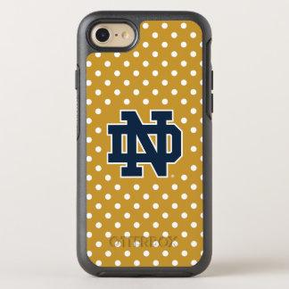 Notre Dame   Mini Polka Dots OtterBox Symmetry iPhone 8/7 Case