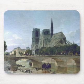 Notre Dame, Paris, 1884 Mouse Mat