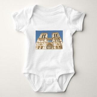 Notre Dame, Paris Baby Bodysuit