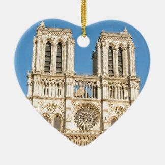 Notre Dame, Paris Christmas Ornament